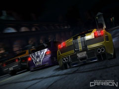 Скриншоты из Need for Speed Carbon.